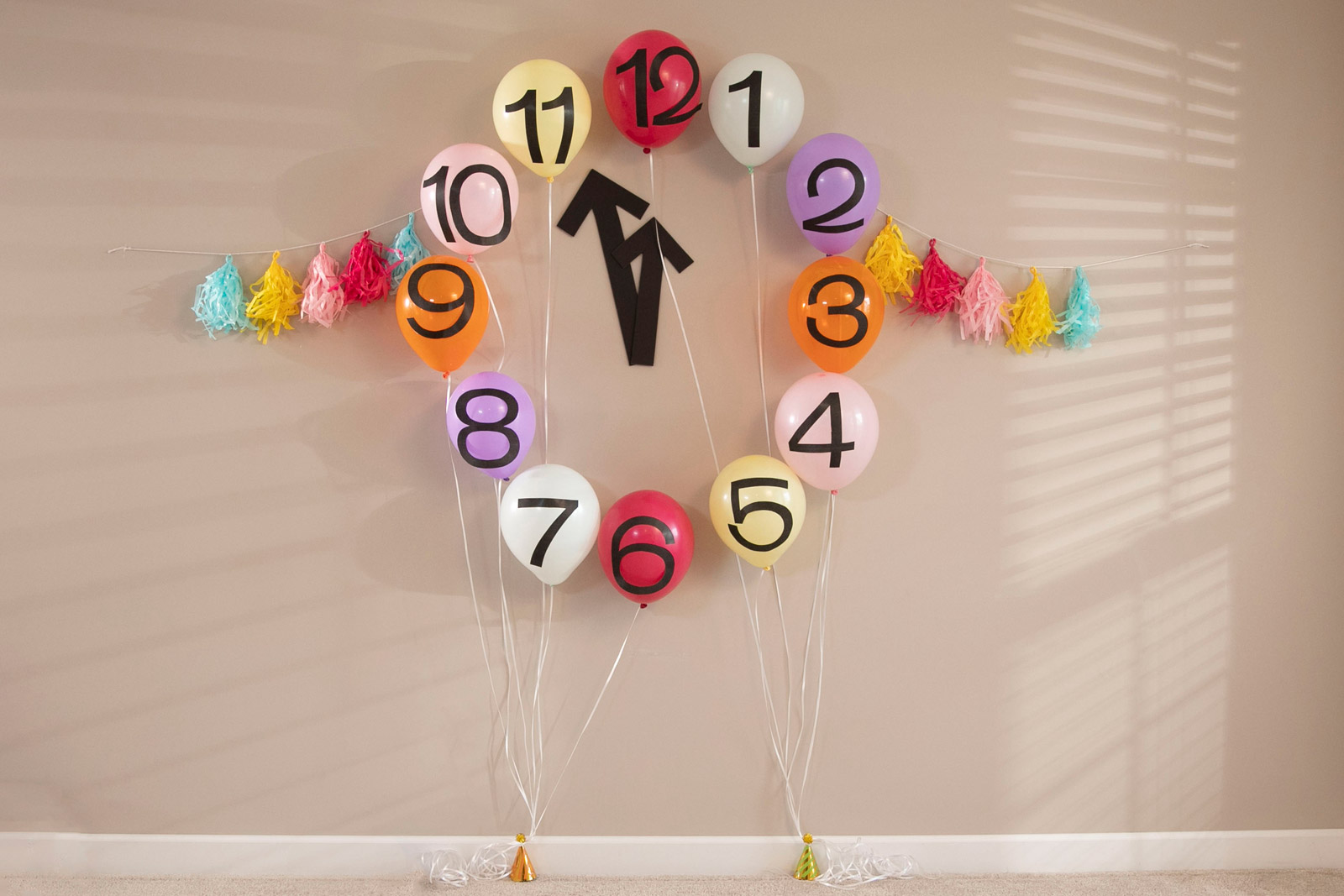 Noons Years Eve kid's party theme