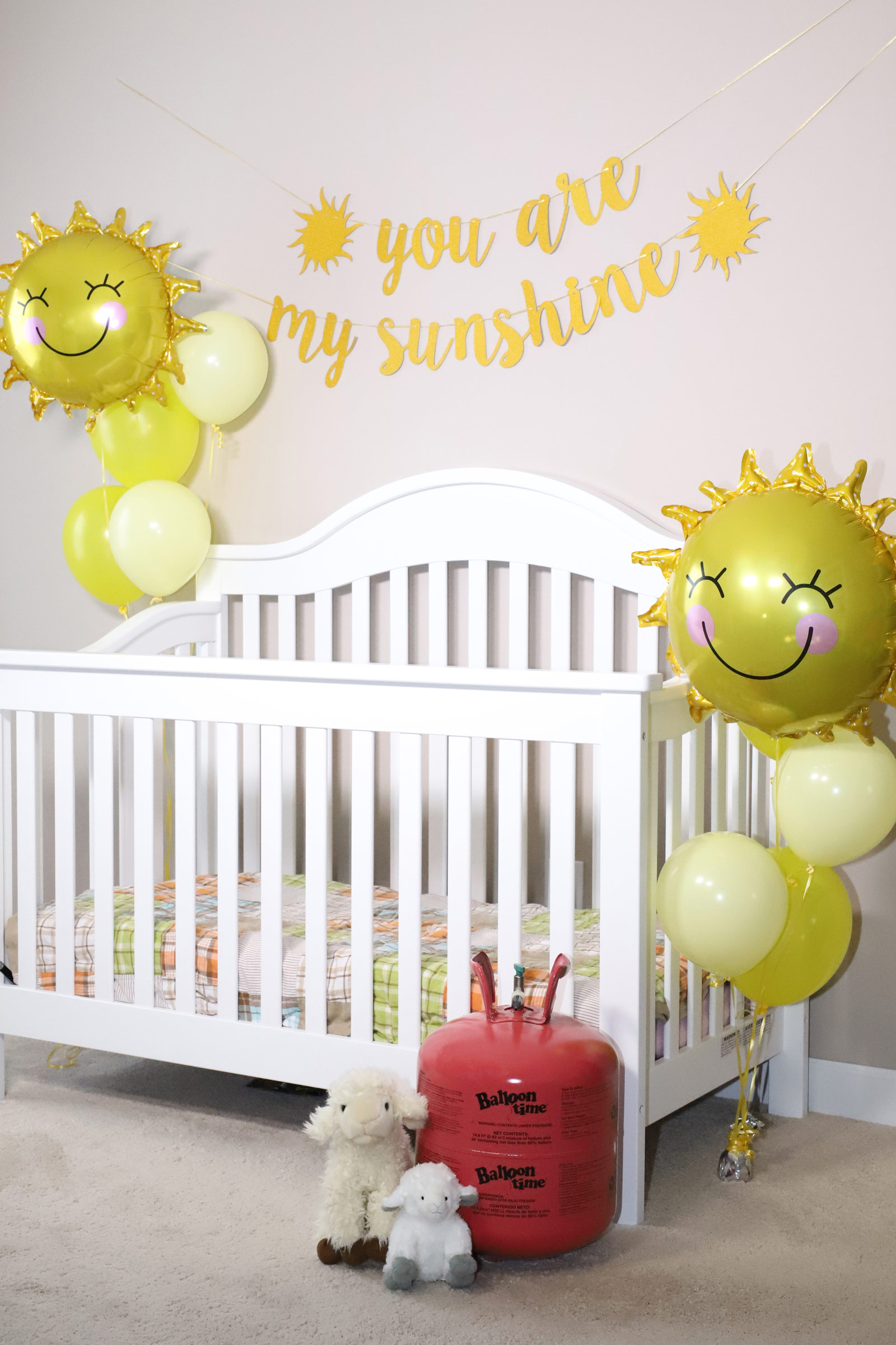 Decorations for baby nursery